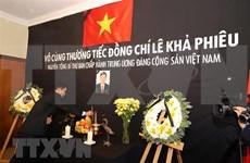 Vietnamitas en el mundo rinden homenaje póstumo a Le Kha Phieu