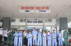 Recuperados otros cinco pacientes del COVID -19 en Da Nang