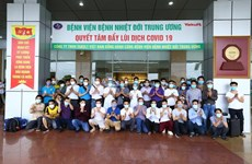 Vietnamitas repatriados de Guinea Ecuatorial completan periodo de cuarentena