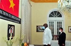 Vicepresidente cubano destaca aporte del difunto líder partidista vietnamita