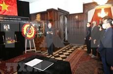 Rinden tributo a Le Kha Phieu en Argentina
