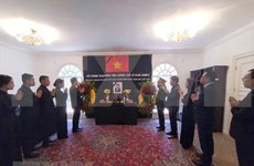 Rinde homenaje póstumo a Le Kha Phieu en Venezuela