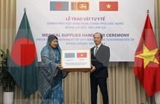 Ofrece Vietnam insumos médicos a Bangladesh y Sri Lanka