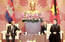 Máxima legisladora de Vietnam se entrevista con su par de Camboya