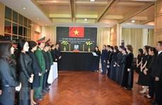 Rinden tributo al exsecretario general Le Kha Phieu en Tailandia