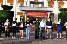 Completan período de aislamiento ciudadanos vietnamitas provenientes del extranjero