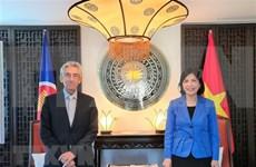 Vietnam fortalece cooperación con Organización Centro Sur