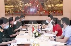 Promueven Vietnam y Cuba cooperación en medicina militar