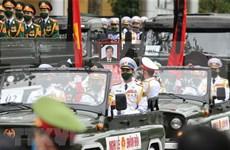 Solidarizan Argelia y Mongolia con Vietnam por deceso de exdirigente partidista