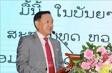 Conmemoran en Laos Día tradicional de la Policía Popular de Vietnam