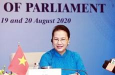 Máxima legisladora de Vietnam asiste a quinta Conferencia Mundial de Presidentes del Parlamento