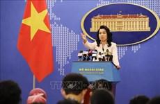 Portavoz de Cancillería vietnamita informa sobre pescadores detenidos en Malasia