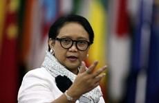 Realiza canciller indonesia visita a China