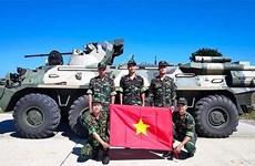 Participa delegación de alto nivel de Vietnam en los Juegos Militares Internacionales 2020