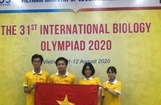 Vietnam gana una medalla de oro en la Olimpiada Internacional de Biología 2020