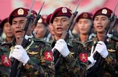 Ejército de Myanmar suspende la operación contra grupos armados por un mes más