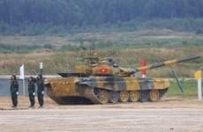 Ocupa Vietnam segundo lugar en la final del biatlón de tanques en Juegos Militares Internacionales 2020