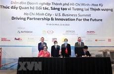 Ciudad Ho Chi Minh y Estados Unidos cooperan en desarrollo de ciudad inteligente