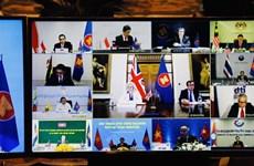 Buscan ASEAN y Reino Unido aliviar impactos económicos de COVID-19