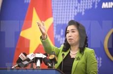 Ejercicios chinos en aguas de Hoang Sa violan soberanía de Vietnam, afirma vocera de Cancillería
