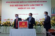 Universidad Nacional de Ciudad Ho Chi Minh por convertirse en una instalación modelo