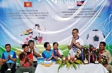 Torneo de fútbol conmemora acontecimientos de Vietnam