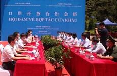 Vietnam y China fomentan cooperación en puertas fronterizas