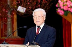 Dirigentes vietnamitas felicitan a Moldavia por Día de la Independencia