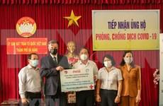 Ofrecen más de dos millones de dólares a la lucha contra COVID- 19 en Da Nang