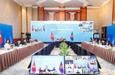 Ministro de Economía de la ASEAN celebran consultas con socios