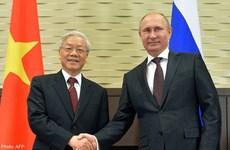 Rusia destaca papel de Vietnam en organizaciones regionales y mundiales