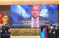Secretario general de la ONU, António Guterres, felicita a Vietnam por el Día Nacional