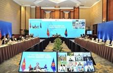 ASEAN y sus socios acuerdan promover cooperación económica post-pandemia