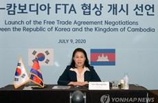 Corea del Sur y Camboya iniciarán segunda ronda de negociaciones del acuerdo de libre comercio