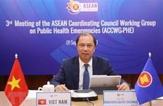 Vicecanciller vietnamita asiste a reuniones de ASEAN