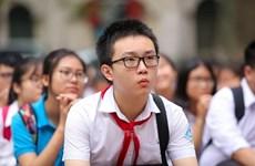 Alumnos de Ciudad Ho Chi Minh comienzan nuevo año escolar