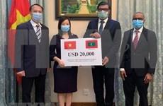 Vietnam brinda asistencia a Maldivas para luchar contra el COVID-19