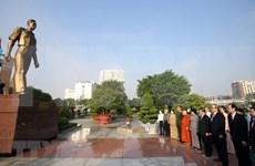 Líderes de Ciudad Ho Chi Minh rinden tributo a expresidentes