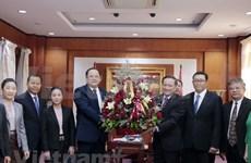 Felicitan dirigentes laosianos a Vietnam por 75 aniversario de su independencia