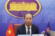 Vietnam preside reunión de altos funcionarios de ASEAN sobre lazos con socios