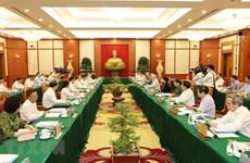 Máximo dirigente partidista preside reunión sobre preparativos de asamblea de Ciudad Ho Chi Minh