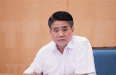 Suspenden a Nguyen Duc Chung de condición de miembro del Consejo Popular de Hanoi