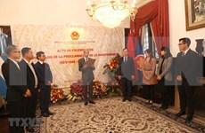 Celebran 75 aniversario del Día Nacional de Vietnam en Argentina