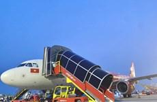 Vietjet Air de Vietnam empieza a encargarse de sus servicios terrestres