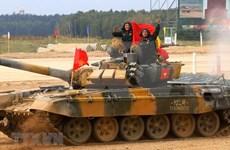 Vietnam triunfa en Biatlón de Tanques en los Juegos Militares Internacionales 2020