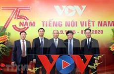 La Voz de Vietnam celebra el 75 aniversario de su fundación