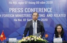 Aprobarán 40 documentos durante reunión de cancilleres de ASEAN y citas anexas