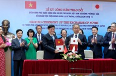 Japón dona casi 17 millones de dólares para la lucha contra COVID-19 en Vietnam
