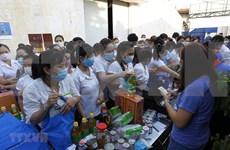 Apoyan a sindicalistas y trabajadores afectados por COVID-19 en provincia vietnamita de Kien Giang