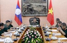 Vietnam y Laos fortalecen cooperación en defensa